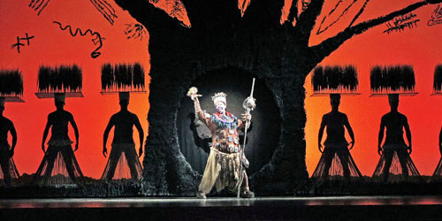 The Tree of Life from  The Lion King  national tour. Photo Joan Marcus. u0027 & PrideSource - u0027The Lion Kingu0027 Still Rules